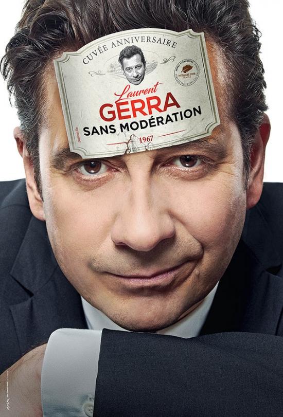 """Laurent Gerra, son nouveau spectacle : """"Sans modération"""""""
