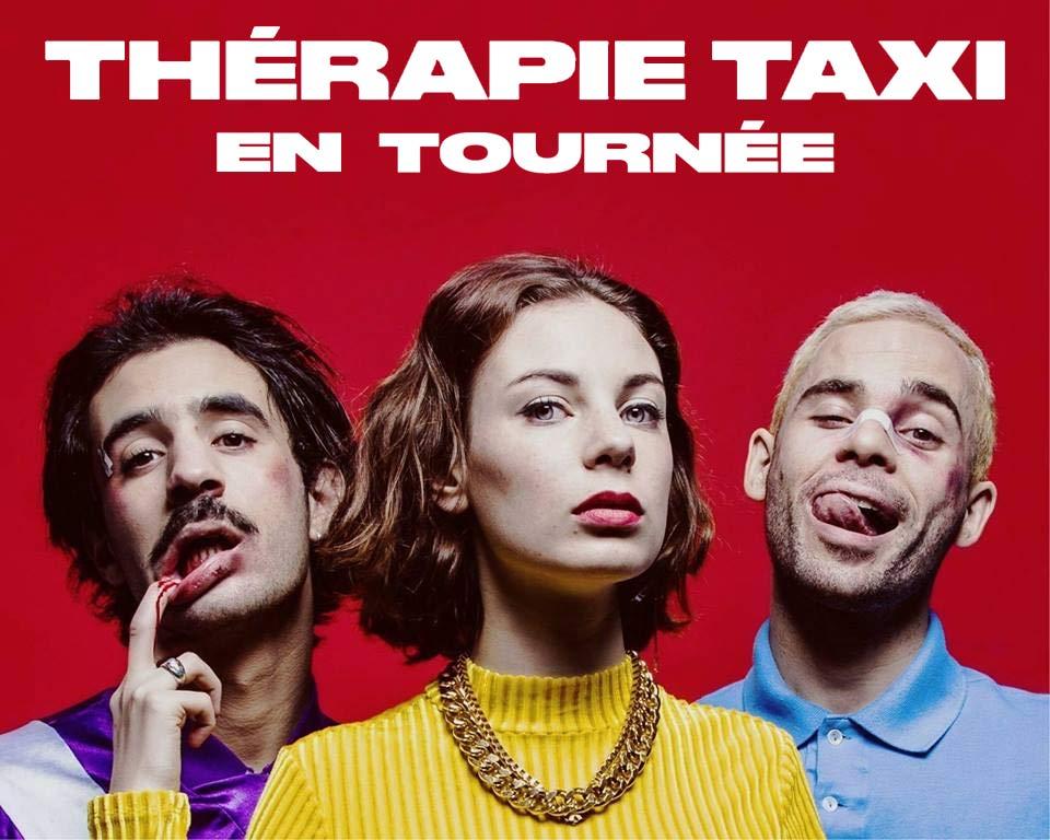 Thérapie Taxi en tournée à travers toute la France