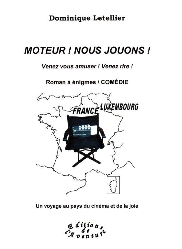 La rouennaise Dominique Letellier dédicace le drôle « Moteur ! Nous jouons ! », qui célèbre le patrimoine de Vichy, au Marché de l'Avent du Grand Marché de... Vichy les 07 et 08 décembre 2019
